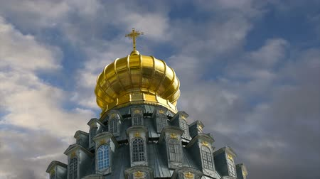 resurrection : Resurrection Monastery, Russian Orthodox Church in Moscow region, Russia