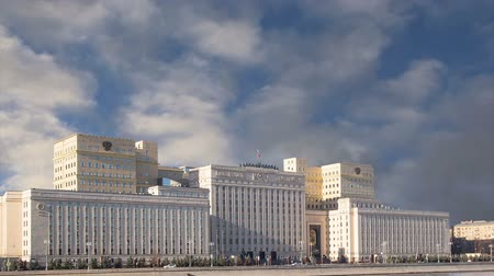 вооружены : Ministry of Defense of the Russian Federation (Minoboron), the day of the Armed Forces. Moscow, Russia Стоковые видеозаписи