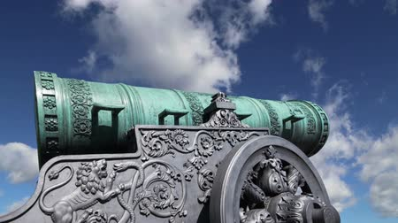 yaldızlı : Cannon against the sky, Moscow Kremlin, Russia, Moscow, Russia - is a large, 5.94 meters (19.5 ft)