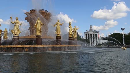 tudo : Fountain Friendship of Nations (1951-54, The project of the fountain by architects K. Topuridze and G. Konstantinovsky) - VDNKH (All-Russia Exhibition Center), Moscow, Russia