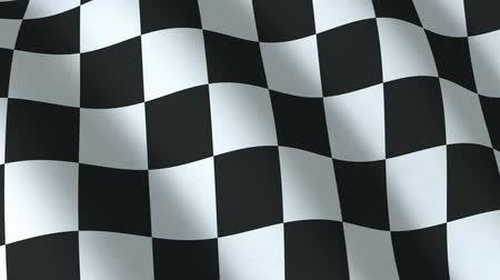 Checkered flag, seamless loop