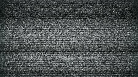 TV Noise background. seamless loop