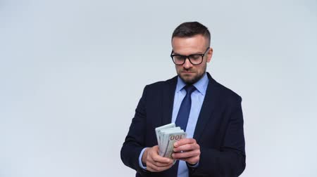 allowance : Man takes money from another person