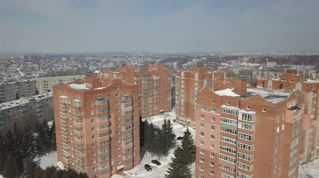 корпус : View from the height of the sleeping area of the city. Social housing