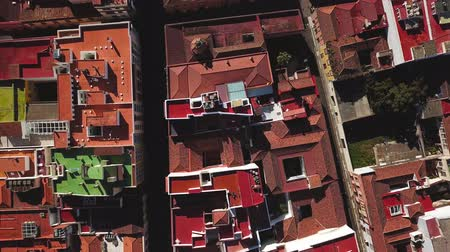 steeples : Top view on houses in San Cristobal De La Laguna, Tenerife, Canary Islands, Spain