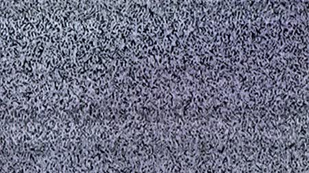привет : Television static noise, black, white Стоковые видеозаписи
