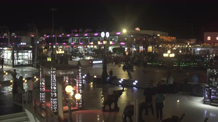 nightcity : SHARM EL SHEIKH, EGYPT - MARCH 5: Sharm al-Sheikh City Centre named Soho