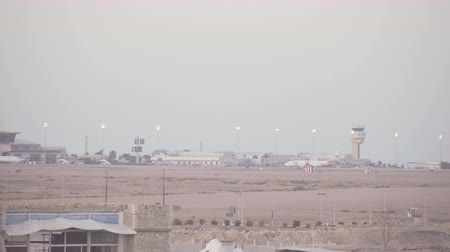 busiest : SHARM EL SHEIKH, EGYPT - MARCH 6: Airplanes of Sharm-El Sheikh International Airport