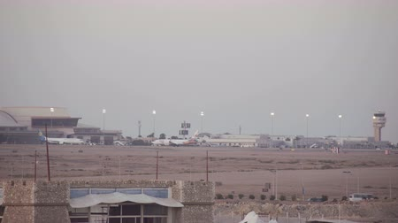busiest : SHARM EL SHEIKH, EGYPT - MARCH 6:Airplanes of Sharm-El Sheikh International Airport