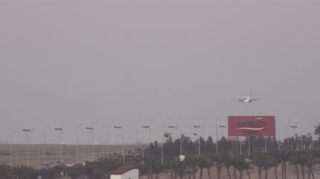 busiest : SHARM EL SHEIKH, EGYPT - MARCH 6:Airplanes landing at Sharm-El Sheikh International Airport