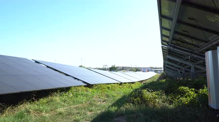 natura : Solar panel, photovoltaic, alternative electricity source - concept of sustainable resources