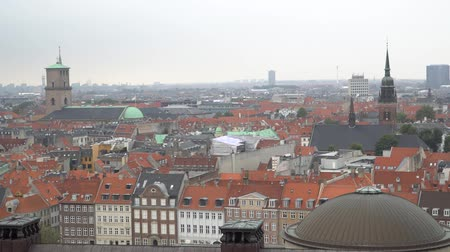 Скандинавия : City beautiful skyline. Copenhagen, Denmark.
