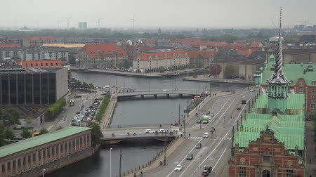 paisagem urbana : City beautiful skyline. Copenhagen, Denmark.