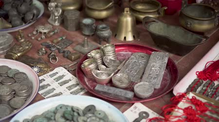 tradição : Asian Flea Market China Ancient Coins