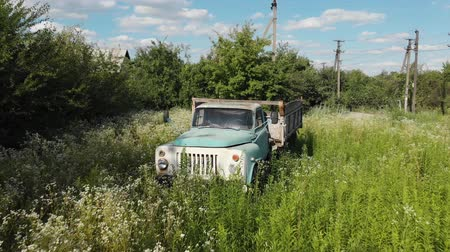 излучение : Abandoned Old Rusty Soviet Truck Car Chernobyl