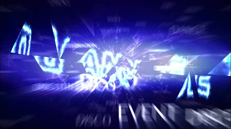 eventos : DANCE Text Animation and Keywords, Rendering, Background, Loop