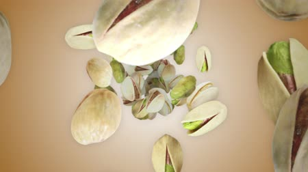 pistache : Falling PISTACHIOS Animation Background, Rendering, with Alpha Channel, 4k