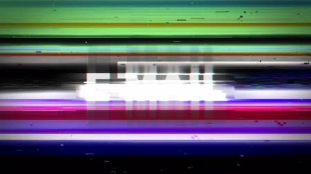 doména : Internet Glitch Keywords Animation, Rendering, Background, Loop, 4k