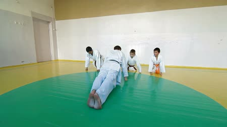 koç : Martial arts instructor training  students