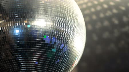 spiegel : Disco Ball Stockvideo