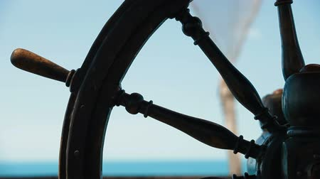 barco : Wooden Steering Wheel