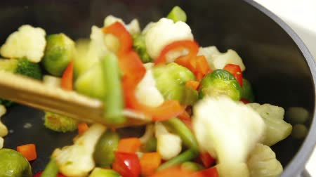 pans : Vegetable Stir Fry