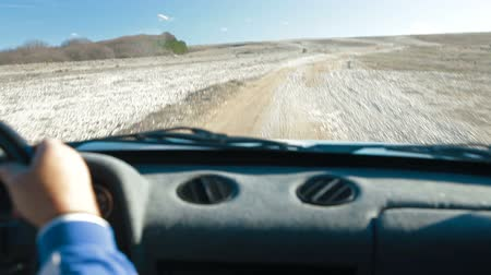 sefer : Off Road Driving Through Mountain Plateau