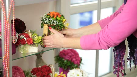 proprietário : Flower Arrangements In Florist Shop