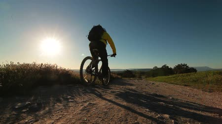 alpy : Mountain Biking At Sunrise