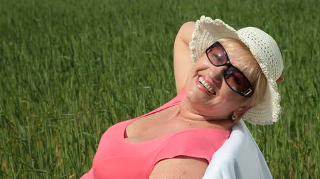 positive ageing : Retirement - life has just begun Stock Footage