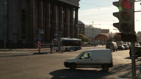 senate square : St. Petersburg landmarks - crossroad near Saint Isaacs Cathedral