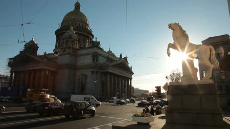 senate square : Saint Petersburg landmarks - St Isaacs Cathedral