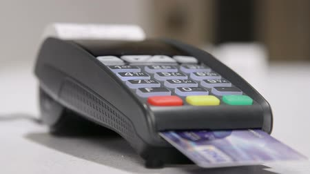 Using credit card terminal for payment