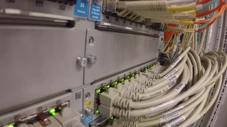 sc : Network LAN patch panel