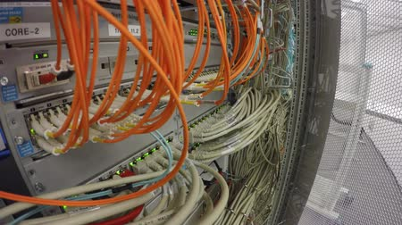 vlákno : Network Switch LAN and Optical Fiber Fiber Optic