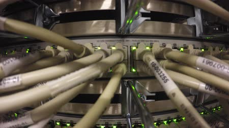 comutar : Network Switch LAN Stock Footage