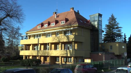 psyche : OLOMOUC, CZECH REPUBLIC, NOVEMBER 17, 2017: Infant Institute building for new-born infants suckling who abandoned or did not want mothers. Company a very important facility nurse-child children