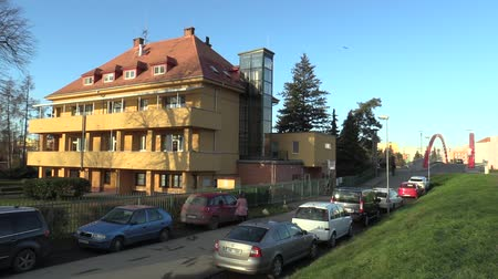 isteyen : OLOMOUC, CZECH REPUBLIC, NOVEMBER 17, 2017: Infant Institute building for new-born infants suckling who abandoned or did not want mothers. Company a very important facility nurse-child children