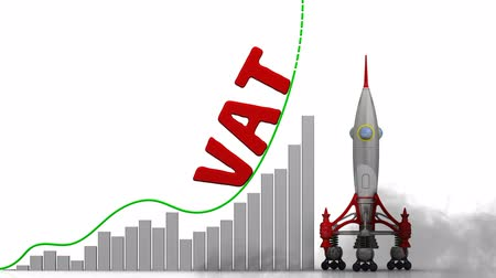 érték : The graph of VAT (Value Added Tax) growth