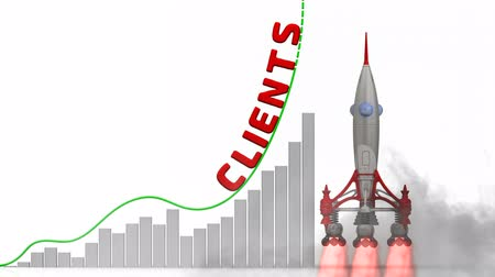 değerlendirme : The graph of clients growth