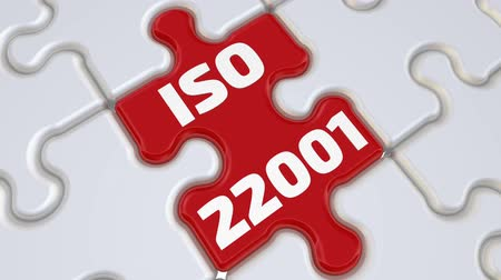 belgeleme : ISO 22001. The inscription on the missing element of the puzzle