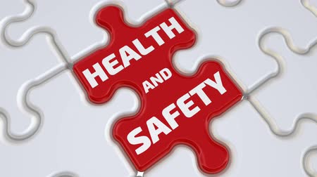 safeness : Health and safety. The inscription on the missing element of the puzzle