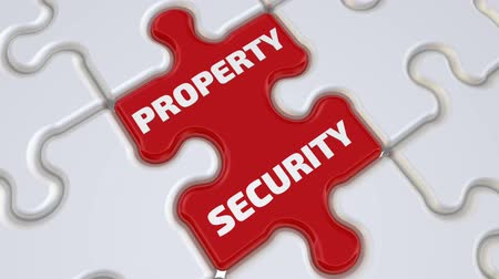 Property security. The inscription