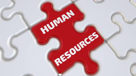 Human resources Стоковые видеозаписи