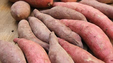 brambory : closeup sweet potatoes
