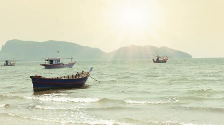 fishing industry : Fishing Boat on Beach