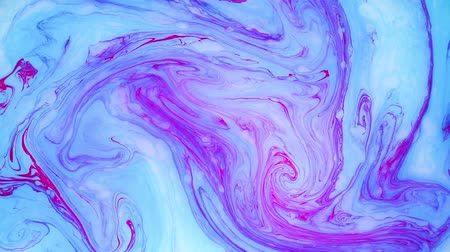 pigment spots : Abstract paint ink in motion. Psychedelic background footage. Colorful spots.