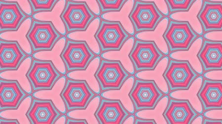 desenli : Geometric ornamental animation. Abstract background for motion design, mapping, VJ show.