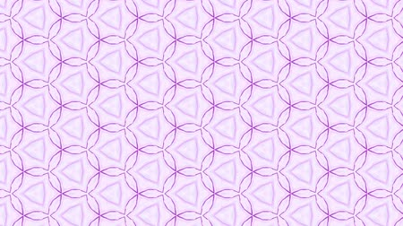 desenli : Looped geometric ornamental animation. Abstract background for motion design, mapping, VJ show. Stok Video