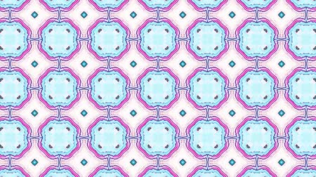 texture tile : Geometric ornamental animation. Abstract background for motion design, mapping, VJ show.